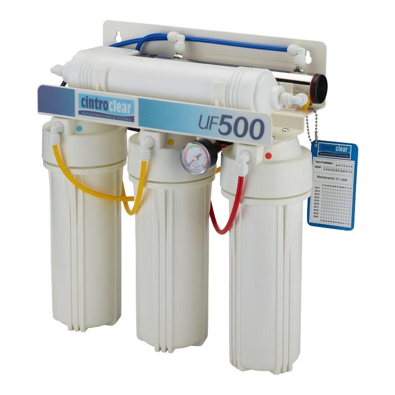 system ultrafiltracji - oczyszczanie wody