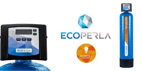 odżelaziacz iodmanganiacz z komorą sprężonego powietrza Ecoperla Oxytower